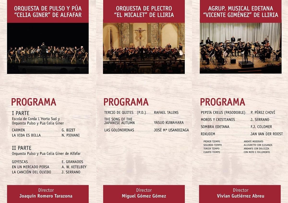 XVII FESTIVAL de la Federación de Orquestas de Pulso y Púa de la Comunidad Valenciana