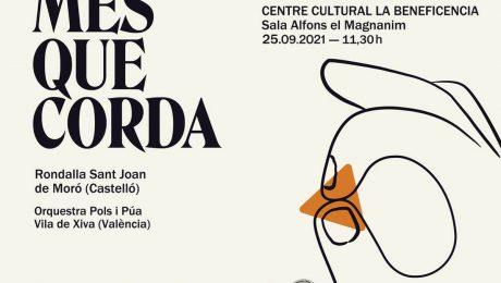 Entradas para el próximo concierto Mès Que Corda